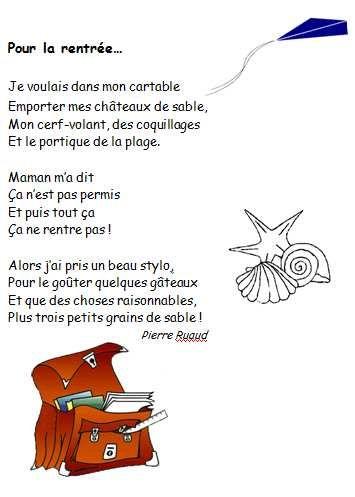 Berühmt Pierre RUAUD : Pour la rentrée (GS, CP, CE1) | Primaire-Français 8  YX43