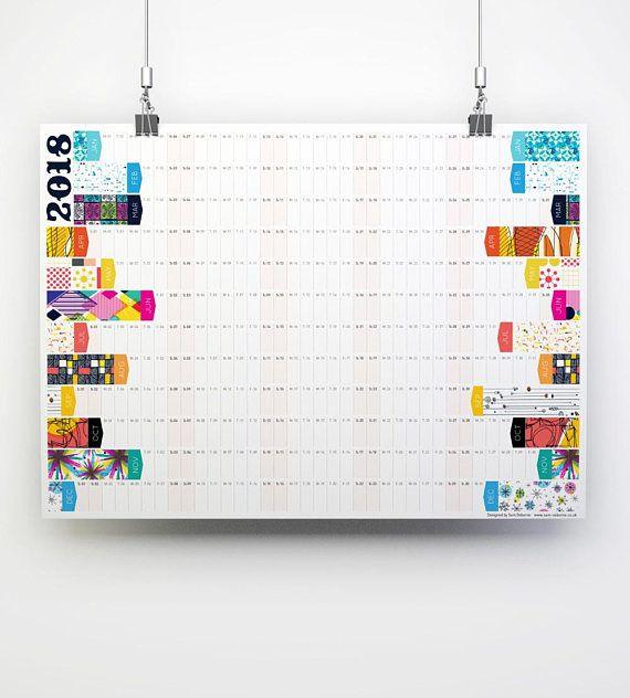 Wall Planner Large Calendar A Planner Office Calendar