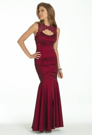 Taffeta Metallic Lace Dress from Camille La Vie and Group USA