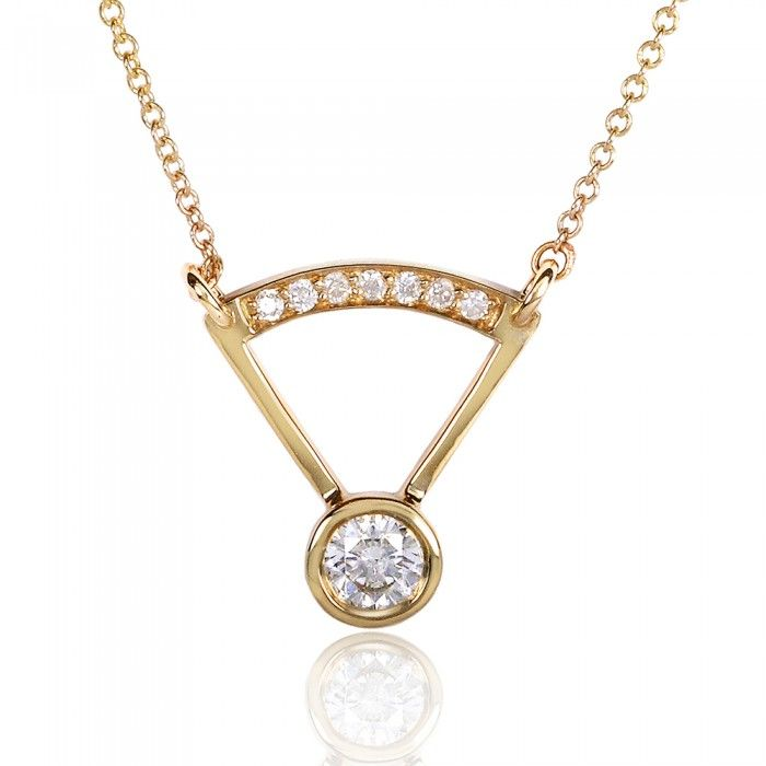 379aae80ebe85 round bezel diamond pendant | Gold | Diamond pendant, Gold, Diamond ...