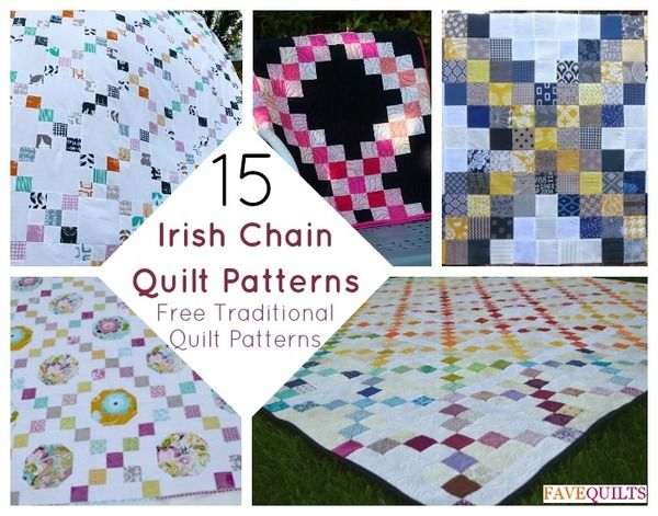 15 Irish Chain Quilt Patterns: Free Traditional Quilt Patterns ... : irish chain baby quilt pattern - Adamdwight.com