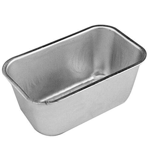Dufustore 1pcs 07l Rectangle Aluminum Box Loaf Tin For Home Bread