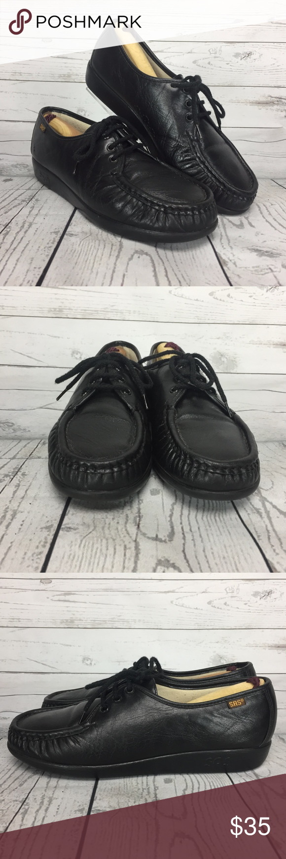 e74e2bbf34d7 SAS Siesta Lace Up Comfort Shoe 9.5 Hand Sewn Toe SAS Women s Siesta Lace  Up Comfort