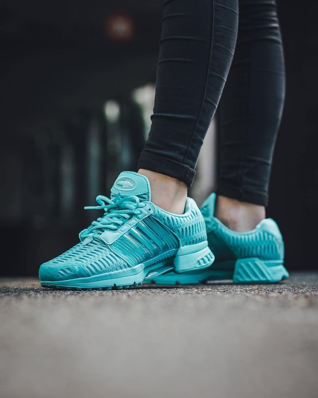 best service 811e4 66a74 adidas climacool trainers blue