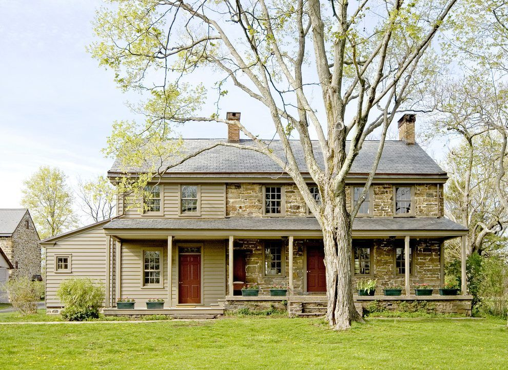 vinyl siding styles exterior farmhouse with stone farmhouse stone house - Stone Farmhouse Exteriors