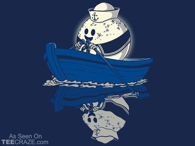Moon The Sailor T-Shirt Designed by JCMaziu  Source: http://teecraze.com/moon-the-sailor-t-shirt/