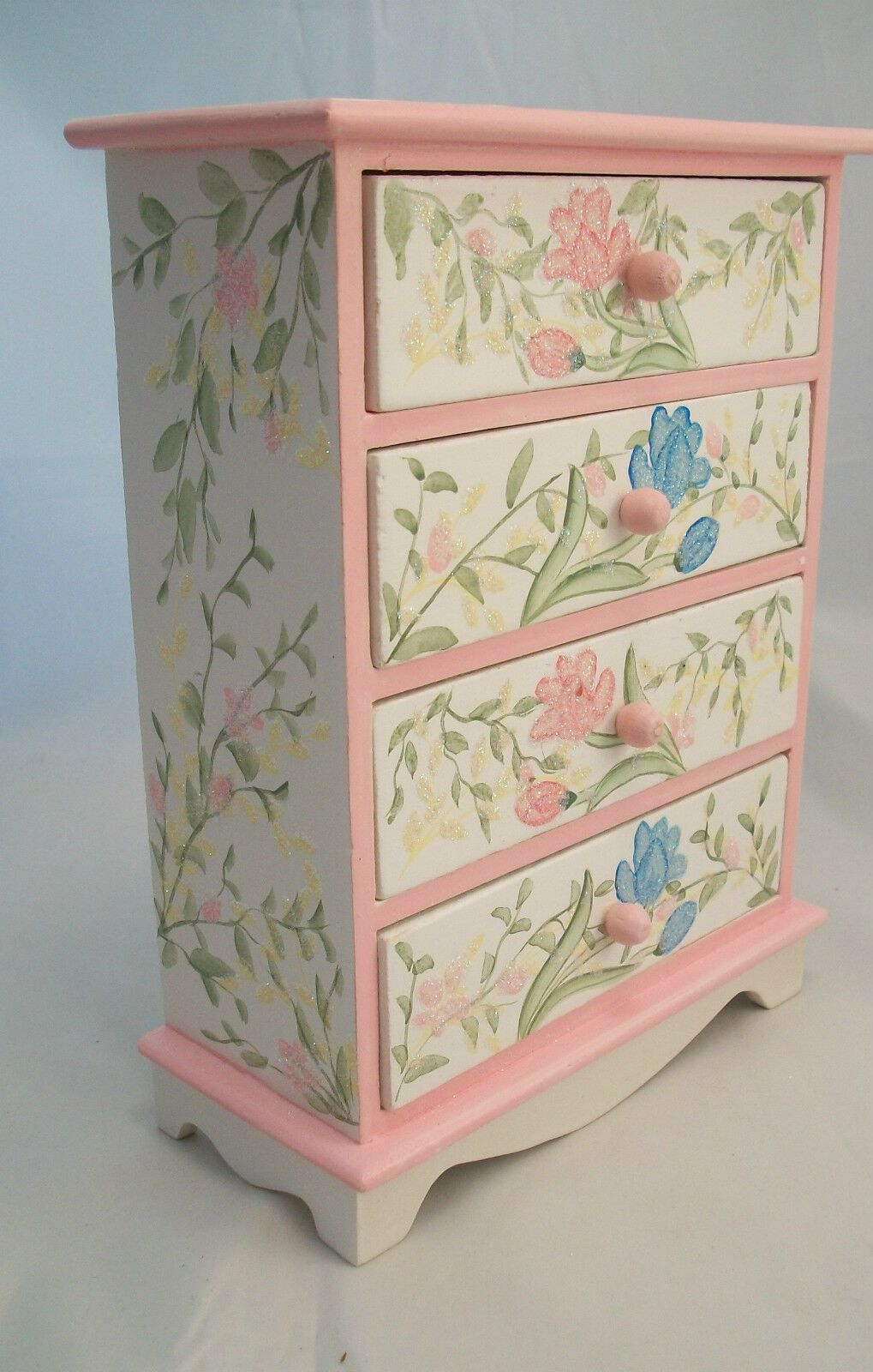 Painted Wide Dresser EWDP2147 Fashion Doll dollhouse furniture 1//6 /& 1//8 Scale