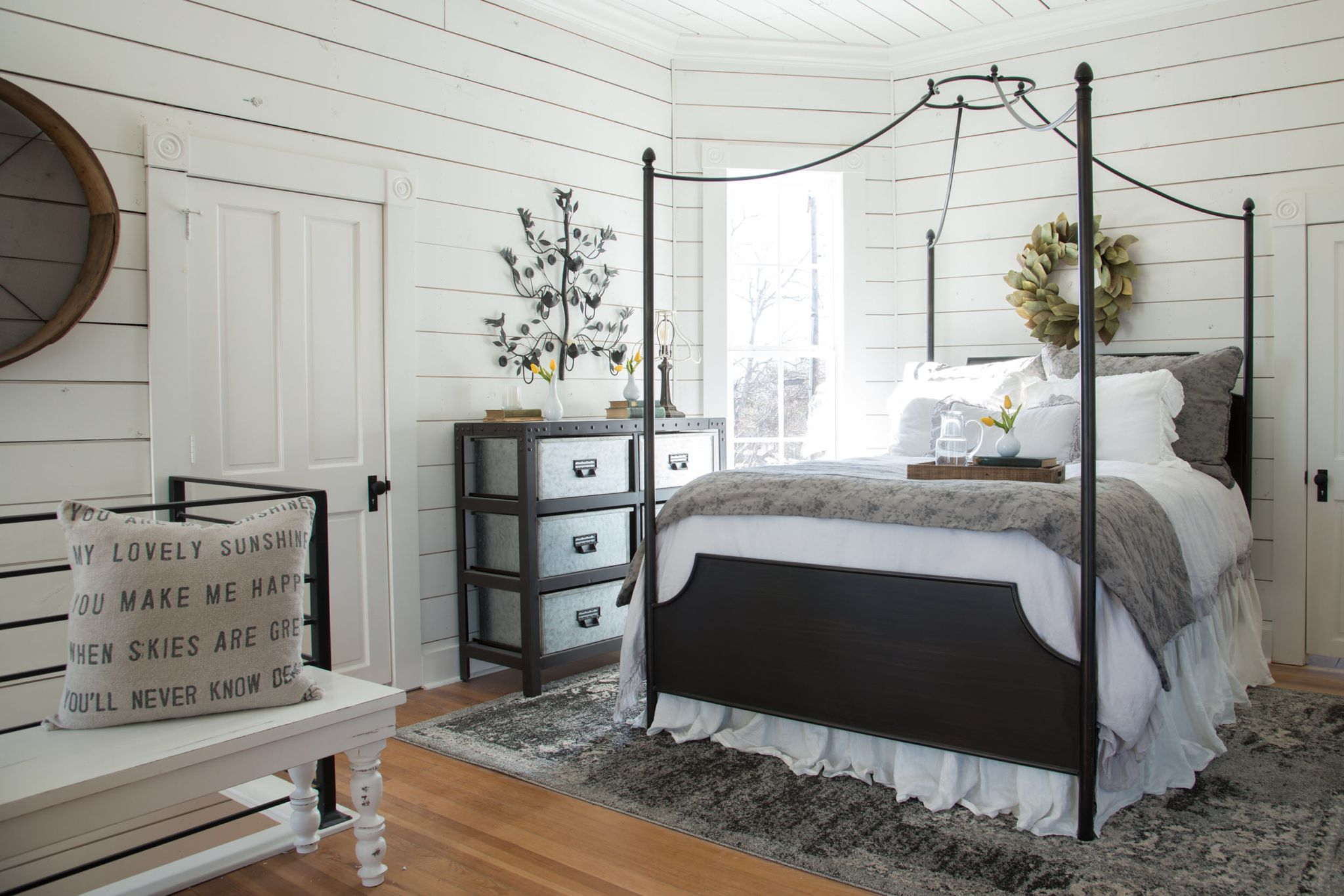 Best In Magnolia House The Master Bedroom Farmhouse Bedroom 400 x 300