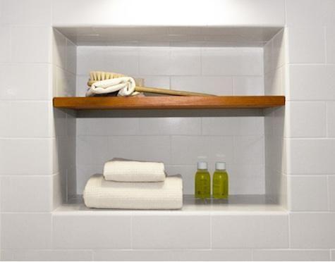 Superior Shower Niche Teak Shelves   Google Search