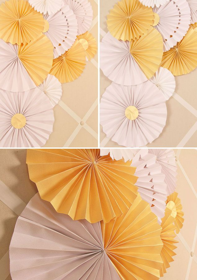 Diy Paper Wedding Fans Sometimes The Easiest Of Projects Can