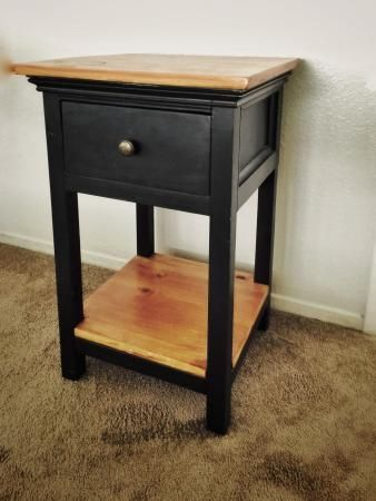 Dressed Up Mini Farmhouse Bedside Table Do It Yourself Home Projects From Ana White