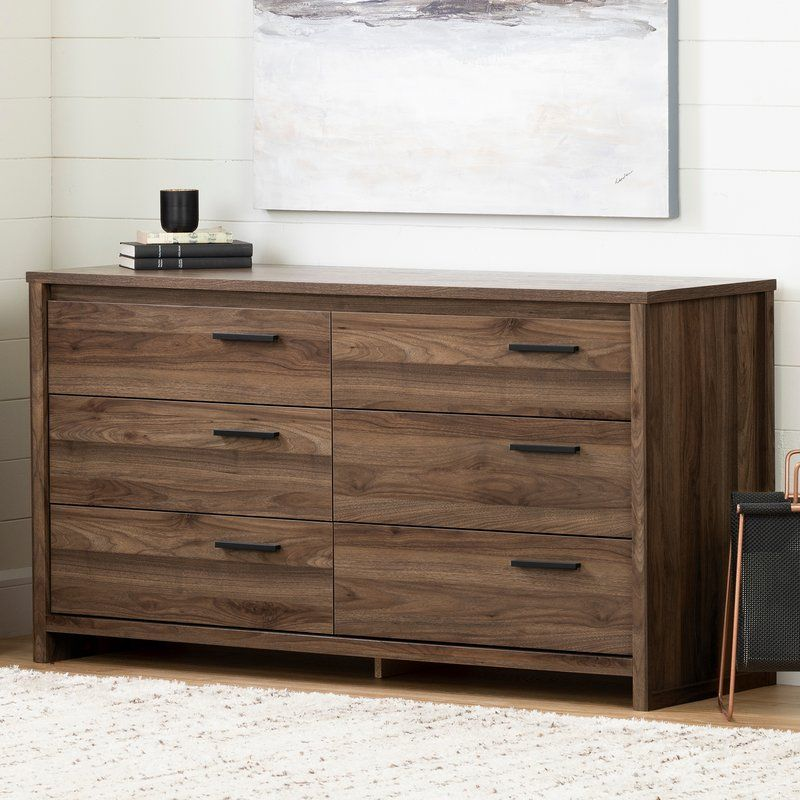 South Shore Commode Double A 6 Tiroirs Tao Et Commentaires Wayfair Ca Double Dresser Dresser Drawers