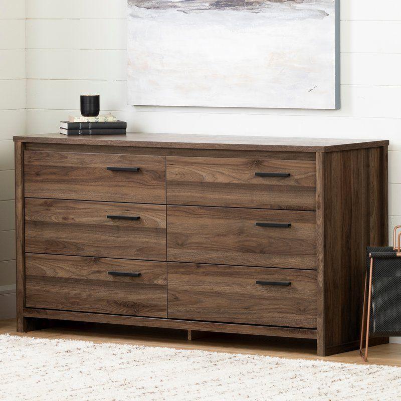 Commode Double 6 Tiroirs Lensky Double Dresser Dresser Drawers