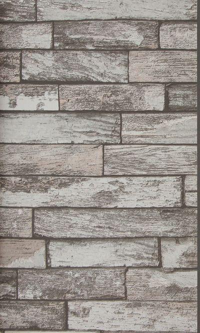 Elton. Crea un ambiente industrial con este papel pintado con un diseño de ladrillo visto sobre superficie lisa. #wallpaper #design