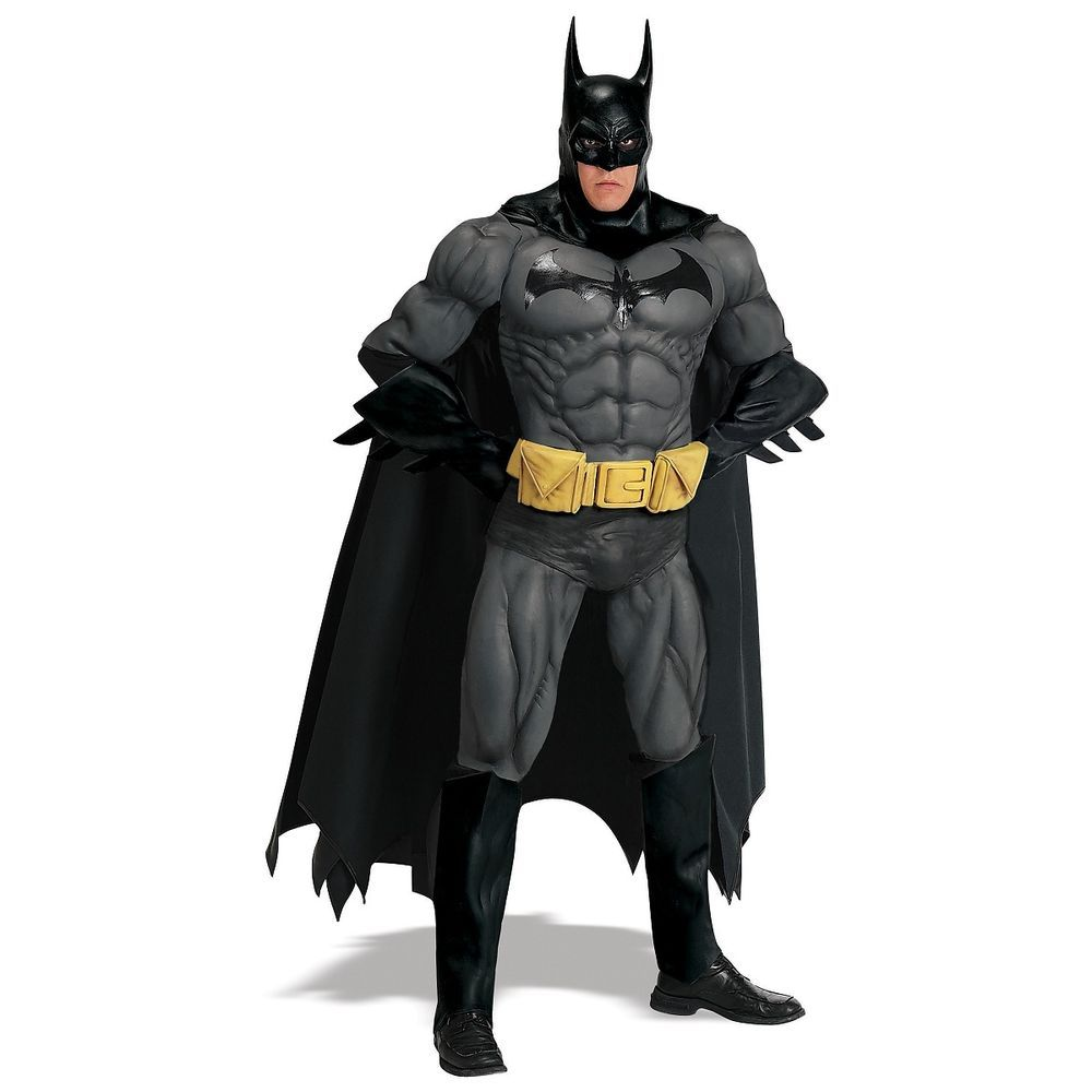 Batman Costume Adult Superhero Halloween Fancy Dress