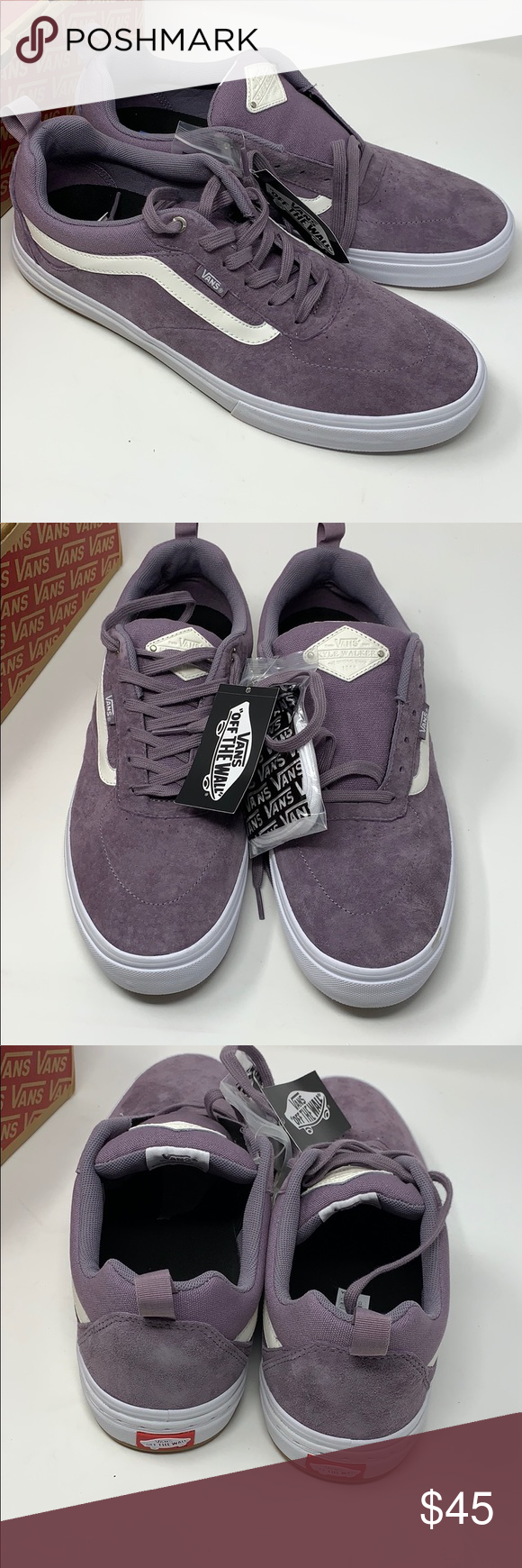 6c079db19e VANS Kyle Walker Pro P purple dawn shoes Size 13 New in box Size  13 Men s  Retails   75 Comes with extra laces is white Vans Shoes Sneakers