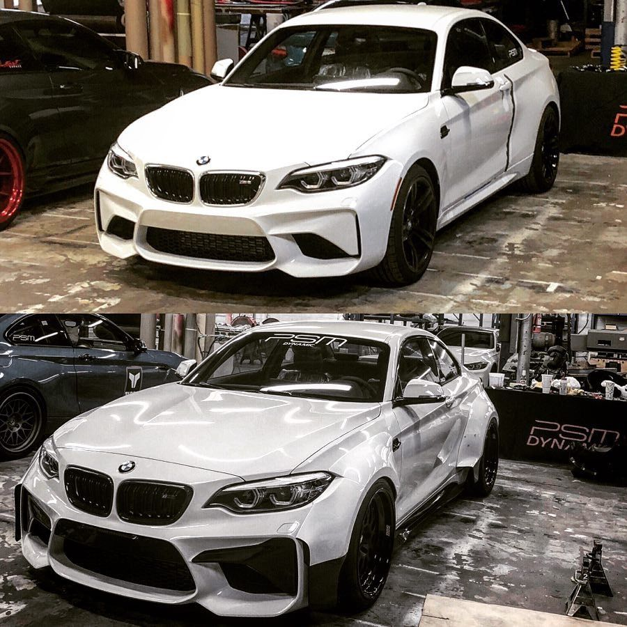 Bmw M2: Before And After 👍🏾👍🏾—— #DreamsDoComeTrue #BMW #M2 #LCI