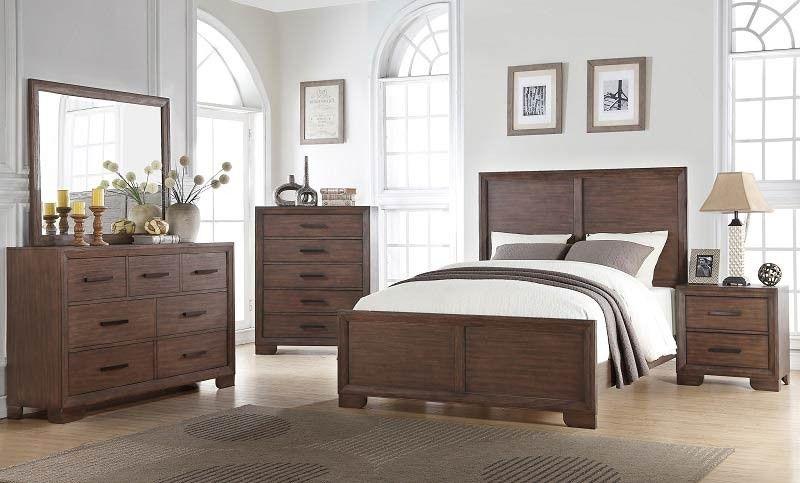 Mcferran Home Furnishings  B509 6 Piece California King Bedroom Best Cal King Bedroom Sets Design Inspiration