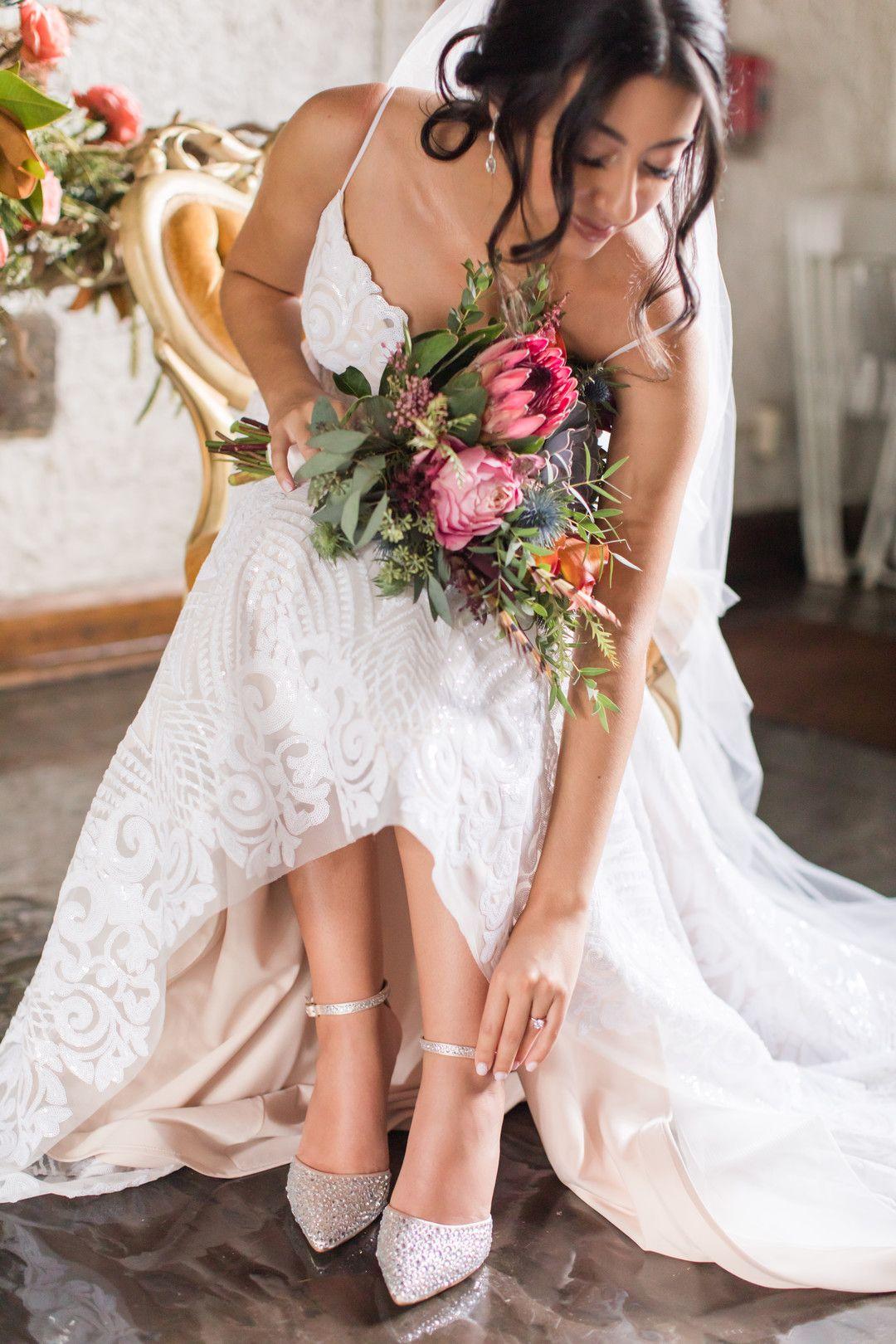 Make Room for Bold Vibrant Wedding Color Palettes ...