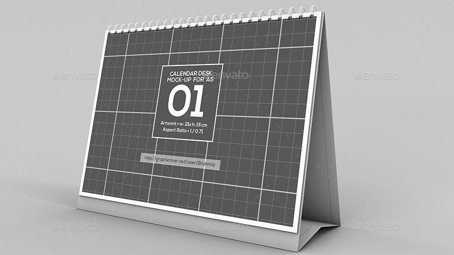 30 Calendar Mockup Psd Design Templates For Designers Graphic Cloud Mockup Desk Mockup Psd Mockup