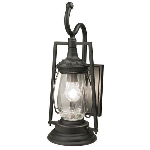 Patriot lighting keros black coach outdoor wall light at menards patriot lighting
