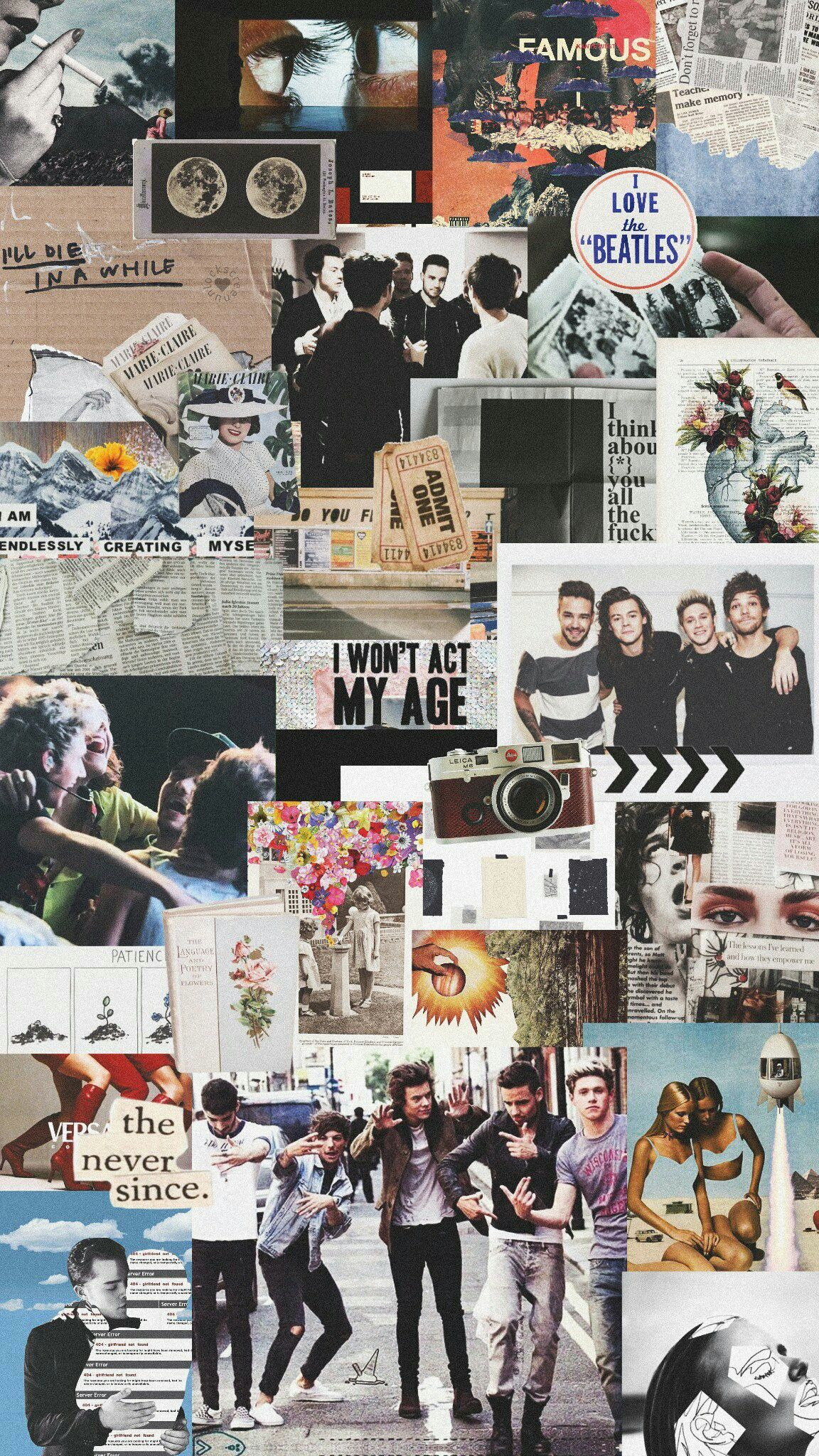 Credits In Pic One Direction Collage One Direction Lockscreen One Direction Wallpaper