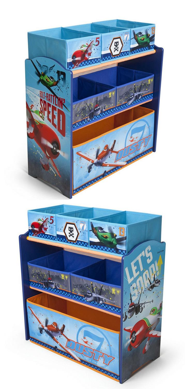 ✈ Pilotenzimmer: Spielzeugregal für das Kinderzimmer kleiner ...