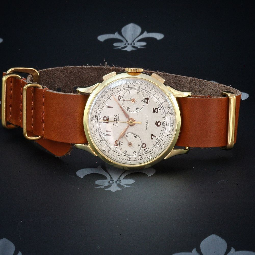 d420b1eda29d Professionally Restored CINY Swiss Vintage Chronograph Watch Landeron Cal.  148