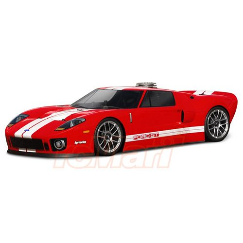 HPI-Racing-Ford-GT-200mm-Clear-Body-Set-1-10-RC-Cars-Drift