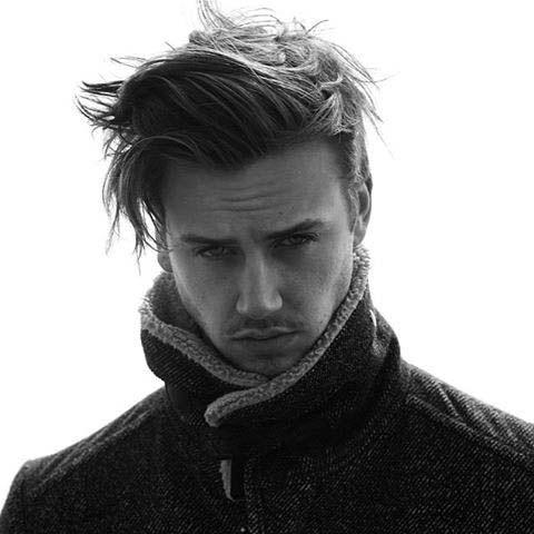 Simple Hairstyles For Medium Long Mens Hair | Short Hair I Love ...
