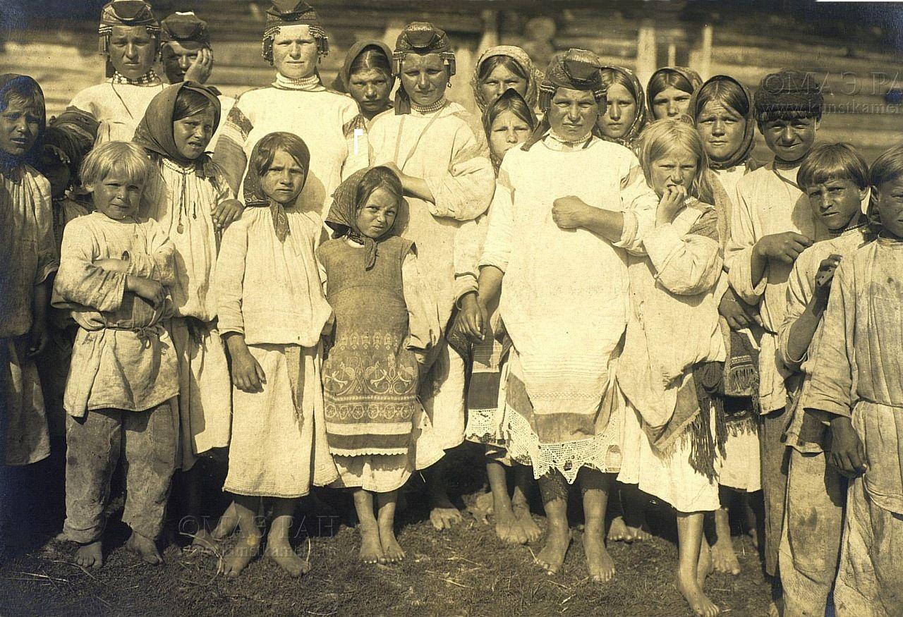 Старые фотографии крестьян для
