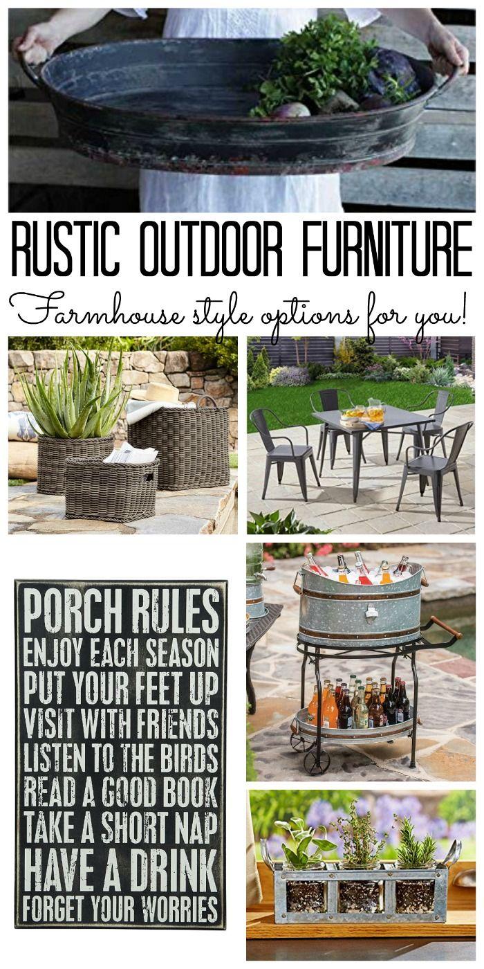 20++ Farmhouse outdoor furniture model