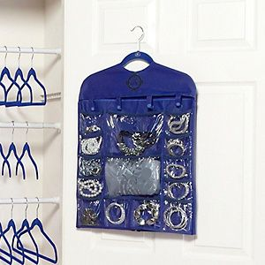 Joy Mangano Huggable Hangers® 30 Pocket Closet Organizer At HSN.com.