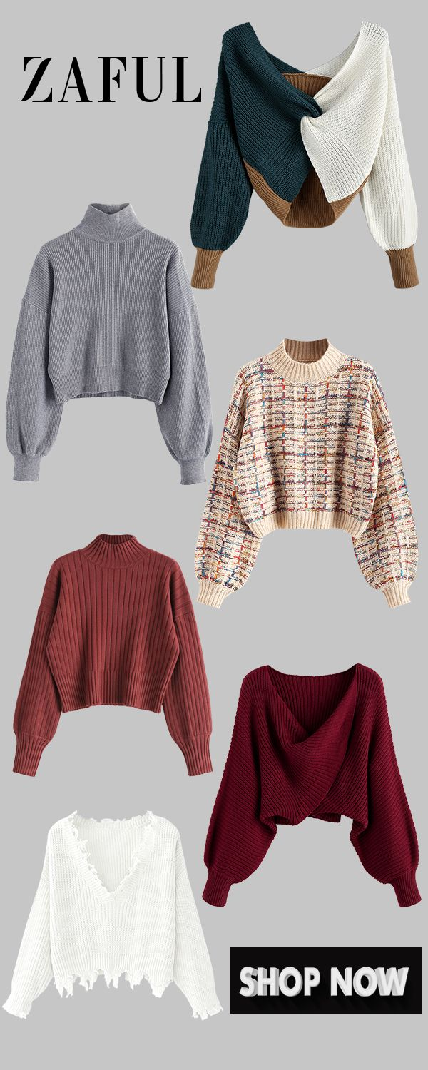 Cardigans & Sweaters Shop the latest trends online | Zaful