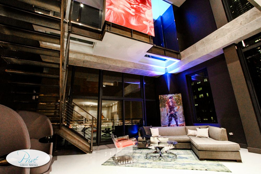 Chicago Penthouses Downtown Chicago Modern Penthouse