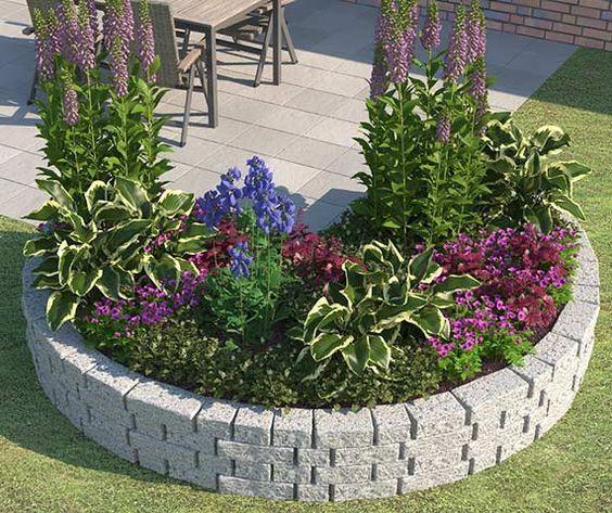 Beet Ganz Einfach Anlegen Gestalten Obi Gartenplaner Garten Pflanzen Garten Gestalten