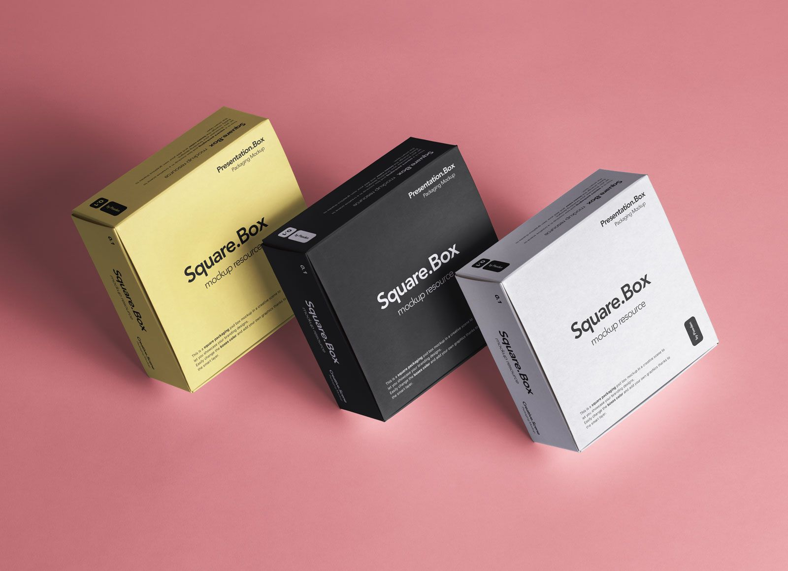 Download Free Square Boxes Product Packaging Mockup Psd Good Mockups Packaging Mockup Medicine Packaging Packaging