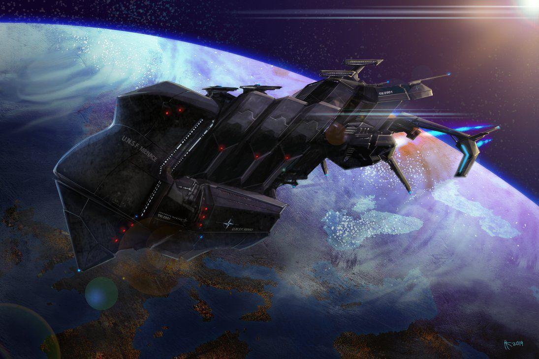 Orbital destroyer by Thylacinee on deviantART