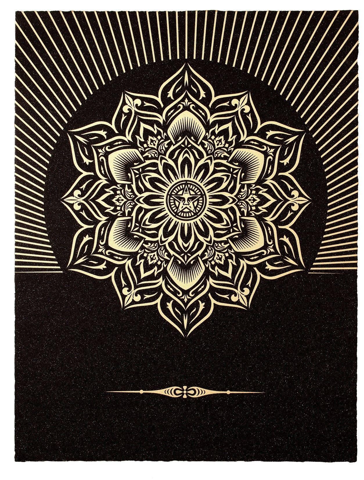 Entdecken und kaufen Sie Obey Lotus Diamond (Black & Gold) von ...