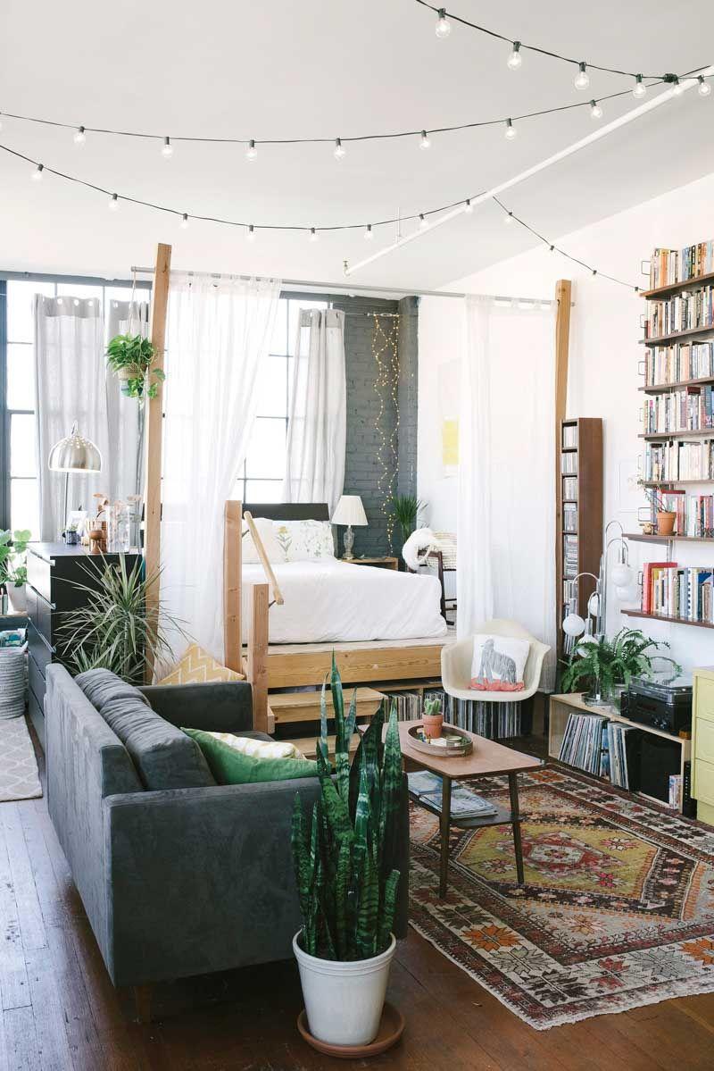 Loft de estilo industrial, decoración con bajo presupuesto, casa de ...