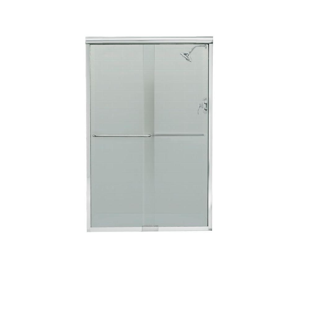 Sterling Finesse 47 1 4 In X 70 5 16 In Frameless Sliding Shower