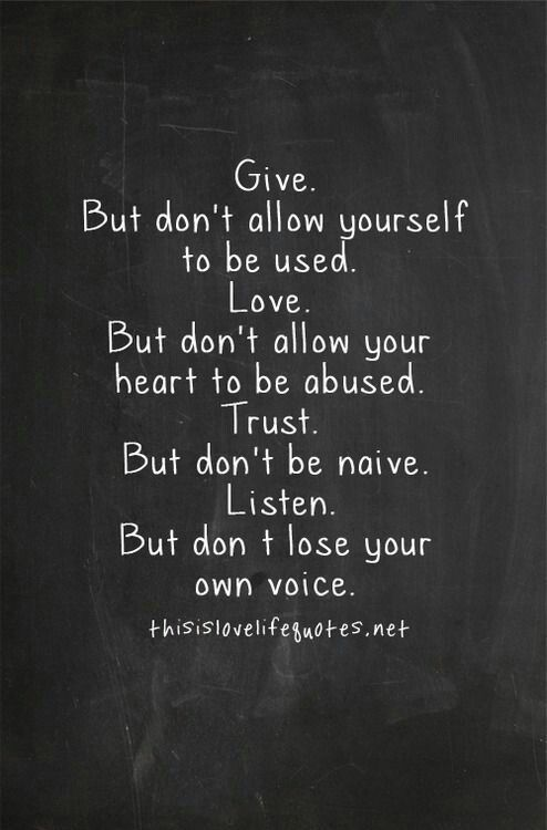 Quote #thisislovelifequotes #Give #allow #yourself #used ...