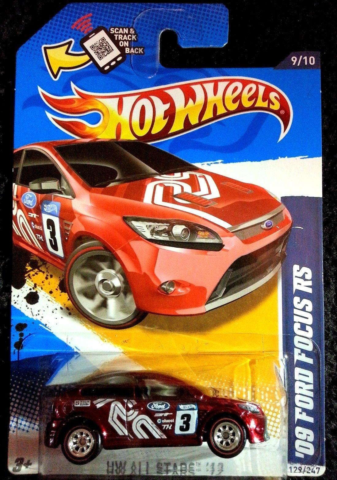 2012 Hot Wheels Super Treasure Hunt 09 Ford Focus Rs Hot Wheels Toys Hot Wheels Hot Wheels Cars