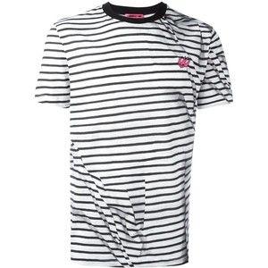 McQ Alexander McQueen striped swallow T-shirt