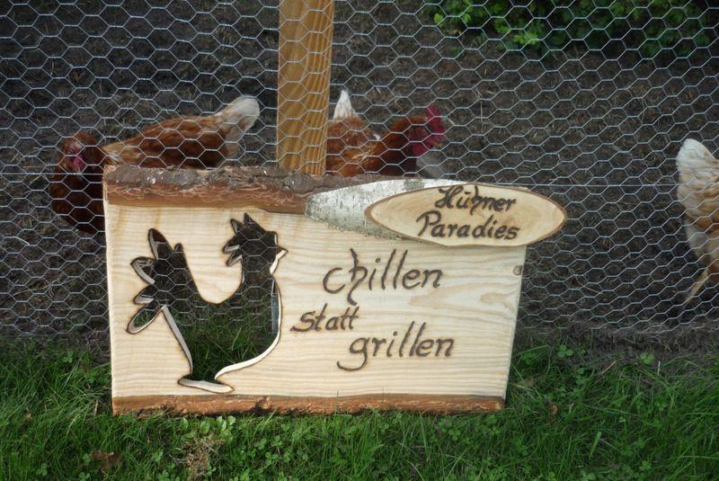 Designer Hühnerstall holzschild hühnerstall schild holz kreativ auf dawanda com