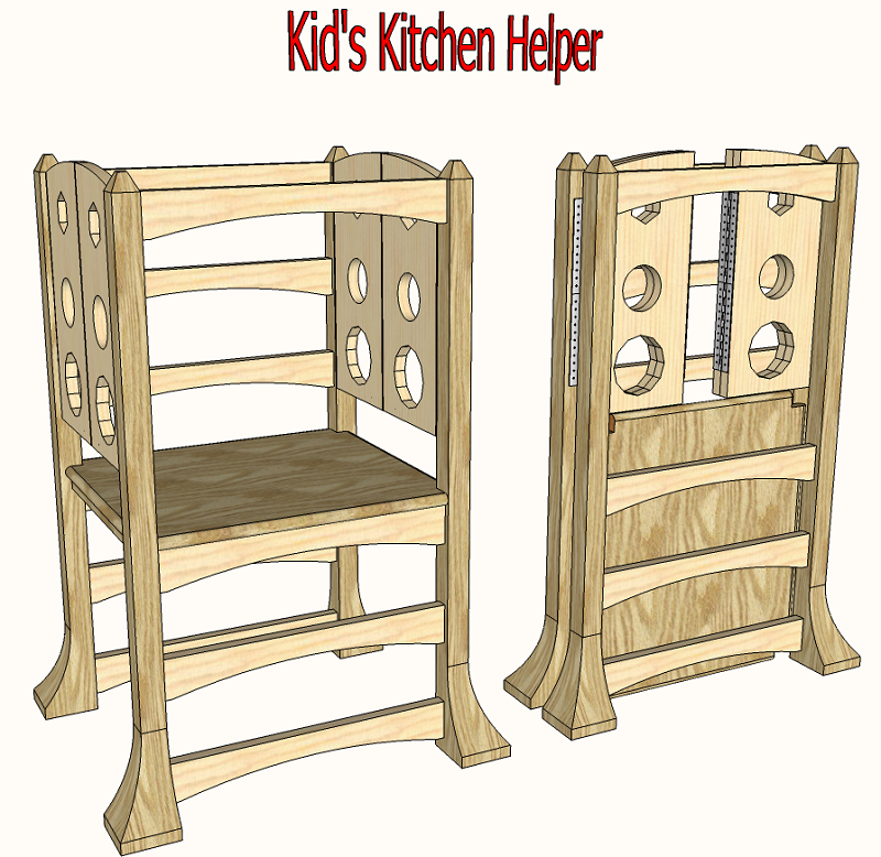 Kitchen Helper Platform Projects To Try Pinterest