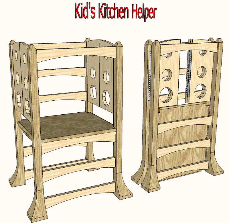 Tremendous Kids Kitchen Booster 116 Woodworking Projects Diy Spiritservingveterans Wood Chair Design Ideas Spiritservingveteransorg