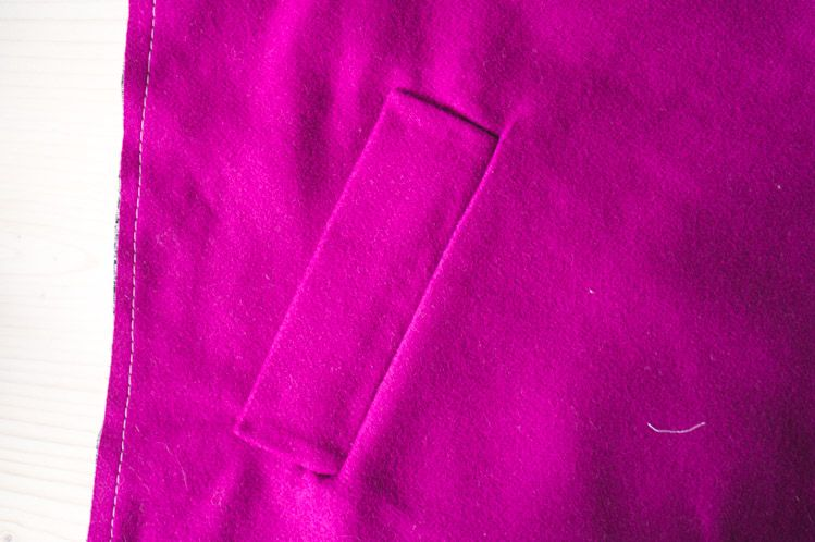 How to sew single welt pockets // Clare Coat Sewalong // Closet Case Files