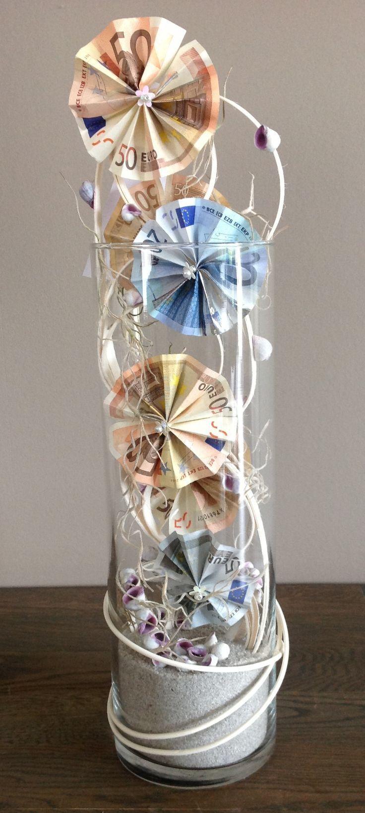 Hochzeitsgeschenk Geld kreativ verpacken: 71 DIY Hochzeitsgeschenke Ideen - DIY, Hochzeit - ZENIDEEN