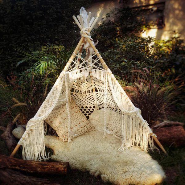 Teepee, tipi, namiot makrama | Outdoor decor, Outdoor, Decor